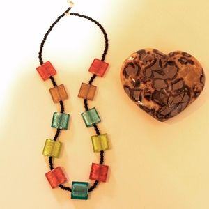 Murano glass from Venice Italy necklace